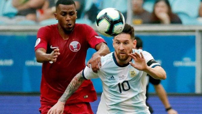 Argentina Menang Atas Qatar