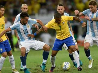Live Skor Adu Laga Brazil vs Argentina